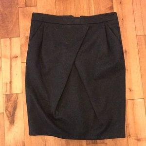Grey Zara Pencil Skirt